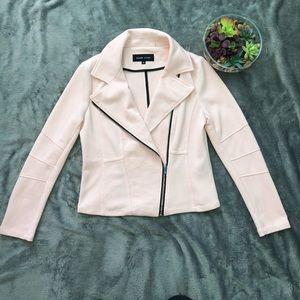 Pale pink Moto jacket size M